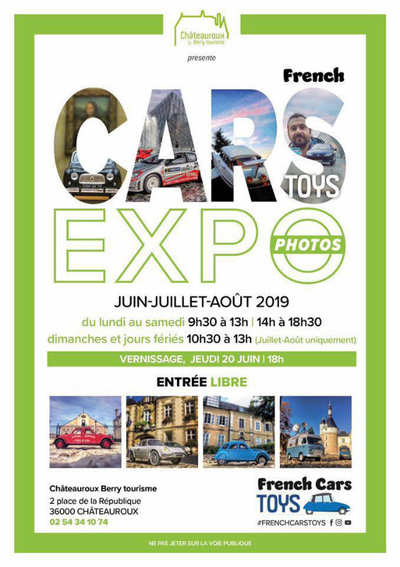 Exposition photos French Cars Toys