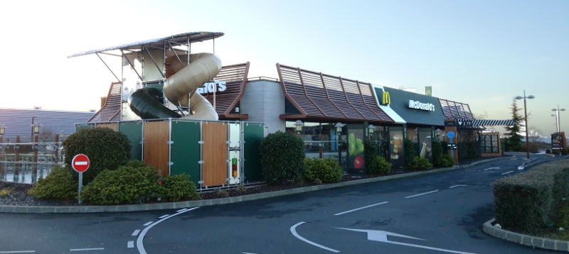 Mc Donald's St Maur