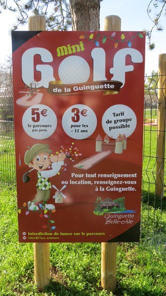 Mini-golf de La Guinguette de Belle-Isle
